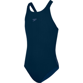 speedo Essentials Endurance+ Medalist Traje de Baño Niñas, true navy